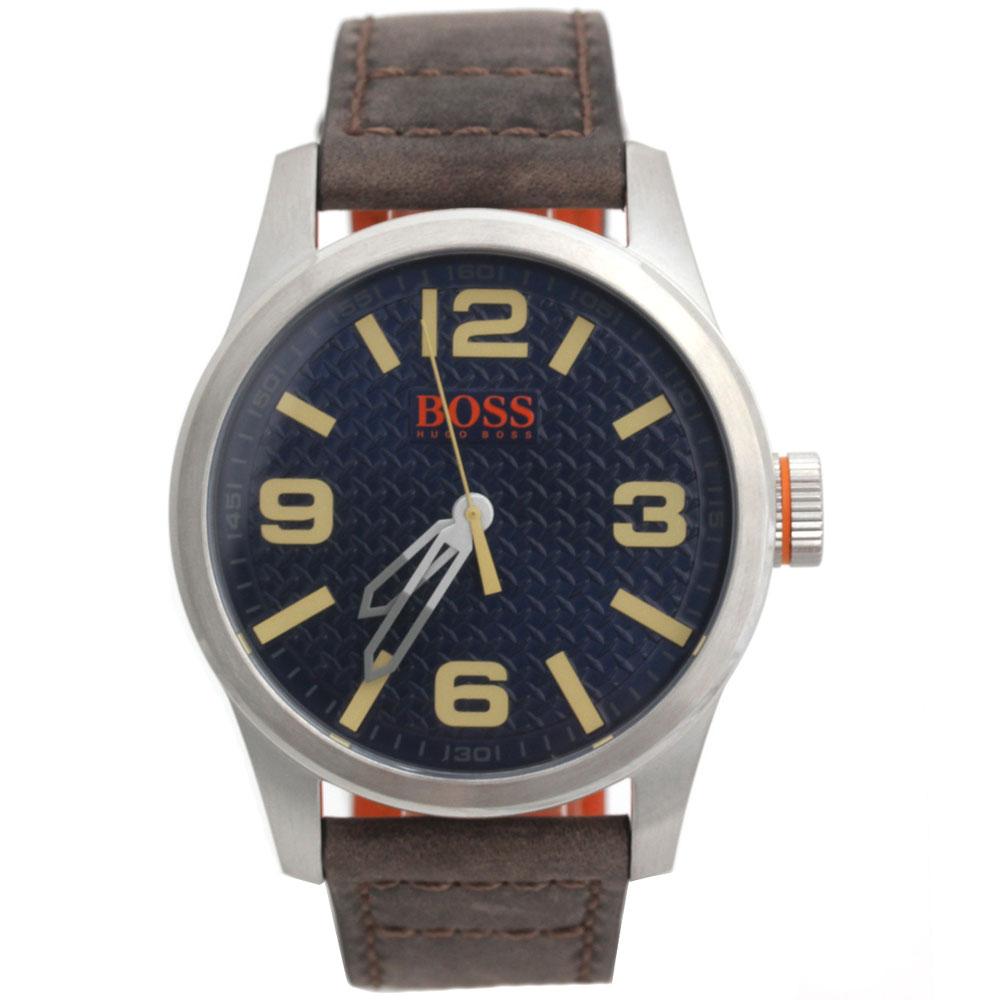BOSS HUGO BOSS ボス ヒューゴボス 腕時計 1513352 Orange Cape Town メンズ ラウンド グレー ブラック