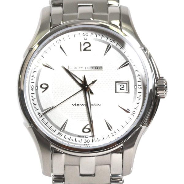 【送料無料】【新品】HAMILTON ハミルトン 腕時計 JAZZ MASTER ジャズマスター ビューマチック H32515155 シルバー文字盤 シルバー メンズ