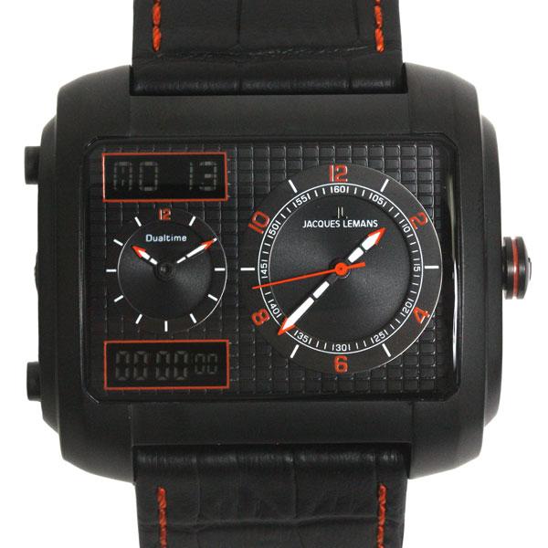 【新品】【送料無料】JACQUES LEMAN ジャックルマンマドリード MADRID クロノグラフ 腕時計 1-1708E クオーツ メンズ 時計