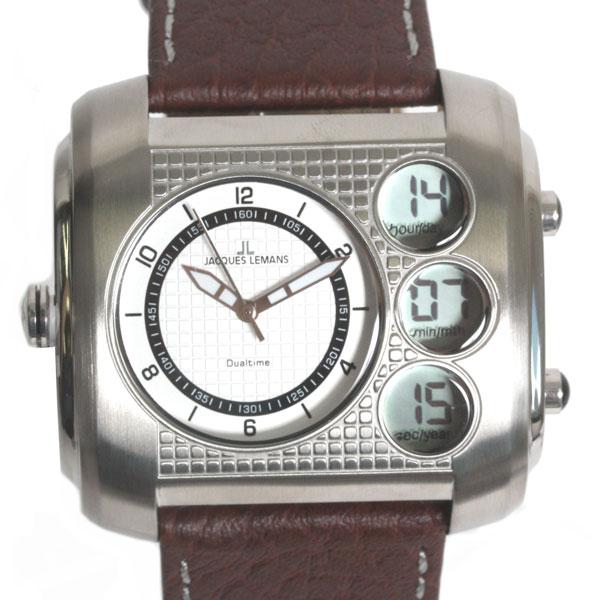 【新品】【送料無料】JACQUES LEMAN ジャックルマン 腕時計 1-1780B クオーツ メンズ 時計