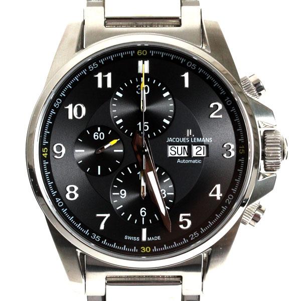 【新品】【送料無料】JACQUES LEMAN ジャックルマン 腕時計 LIVERPOOL リバプール 1-1750D クロノグラフ メンズ  時計 (VALOUX 7750)
