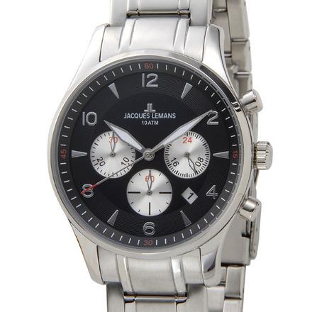 【新品】【送料無料】JACQUES LEMAN ジャックルマンケビンコスナー アンバサダー モデル クロノグラフ 腕時計 1-1654I クオーツ メンズ レディス 時計