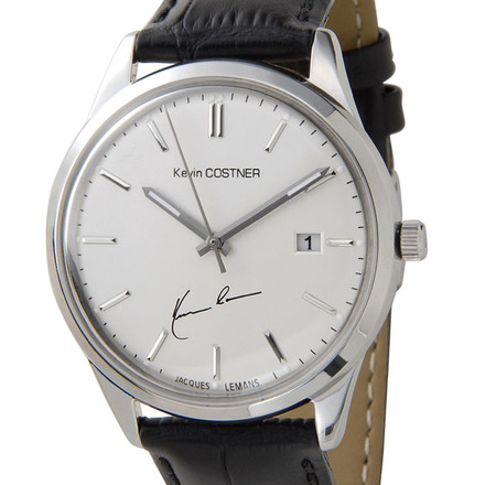 【新品】【送料無料】JACQUES LEMAN ジャックルマンケビンコスナー 腕時計 102A クオーツ メンズ レディス 時計