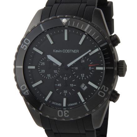【新品】【送料無料】JACQUES LEMAN ジャックルマンケビンコスナー ダイバーズ ウォッチ クロノグラフ腕時計 104B クオーツ メンズ レディス 時計