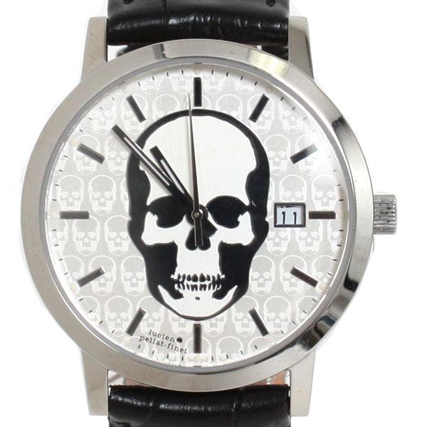 【送料無料】lucien pellat-finet ルシアンペラフィネ 腕時計 DR04 スカル