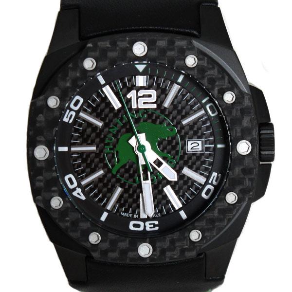 HUNTING WORLD ハンティングワールド 腕時計 タフ エレファント ブラックダイアル メンズサイズ HW026GR ライトグリーン