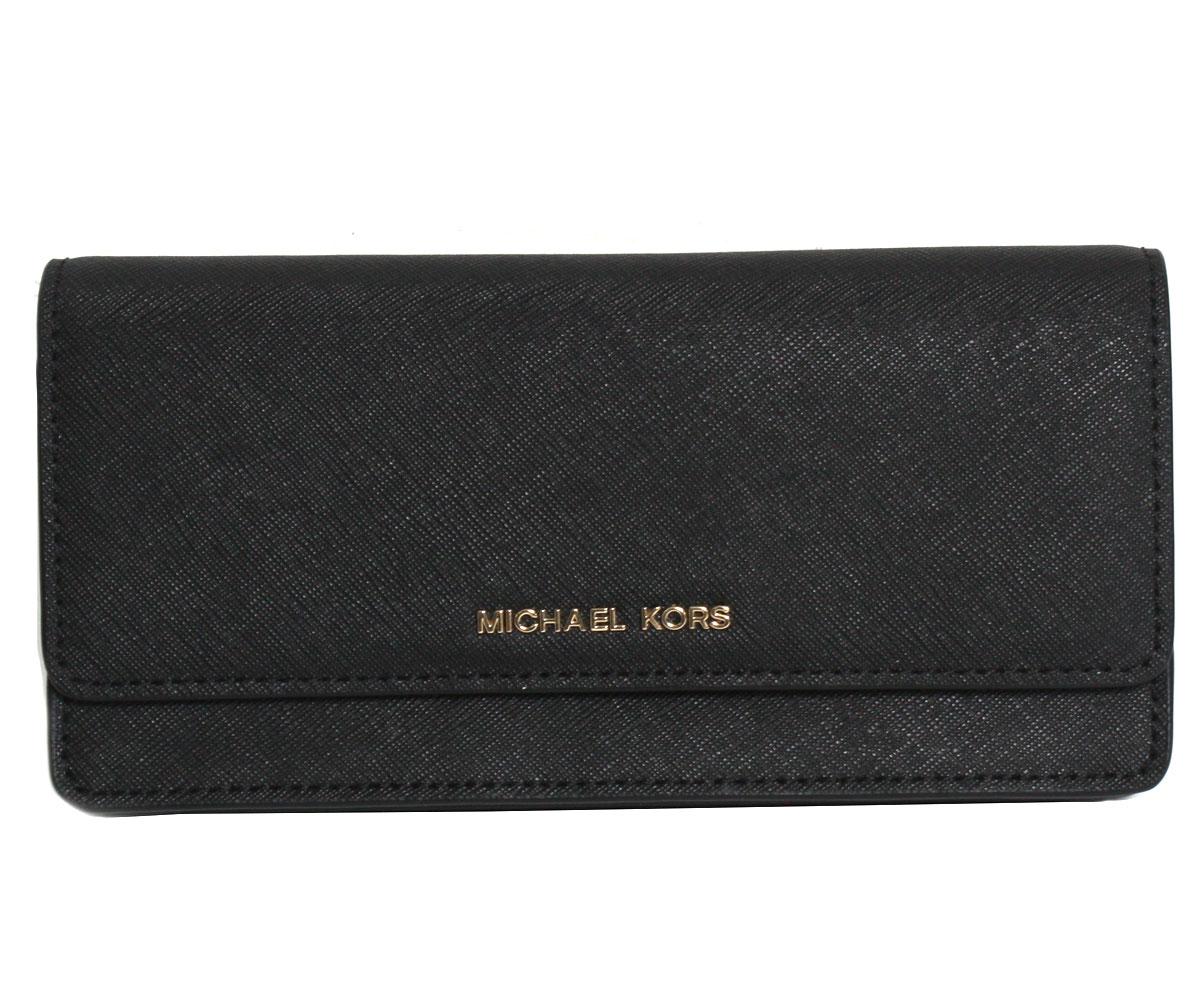 マイケルコース MICHAEL KORS 長財布 32F5GDDF7L 001 BLK ブラック レディース 財布
