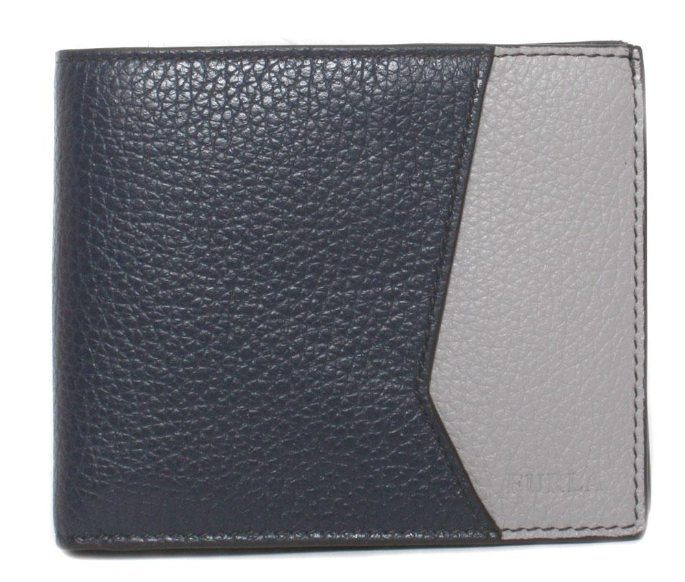 フルラ メーカー公式 FURLA 無料 新品 送料無料 メンズ二つ折り財布 1022956 P ONICE HSC MAN DELFI PBP7 BLU