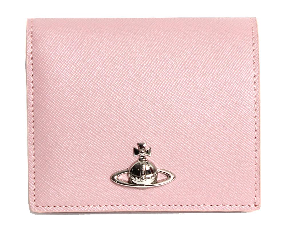 【送料無料】Vivienne Westwood ヴィヴィアンウエストウッド 折り財布 PIMLICO WOMAN BILLFOLD  51010024 40187 G403 PINK