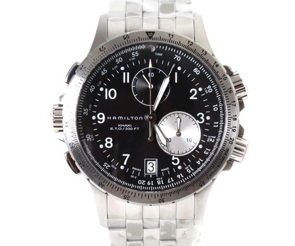 【送料無料】HAMILTON ハミルトン 腕時計 Khaki ETO カーキ E.T.O H77612133 クオーツ メンズ 時計
