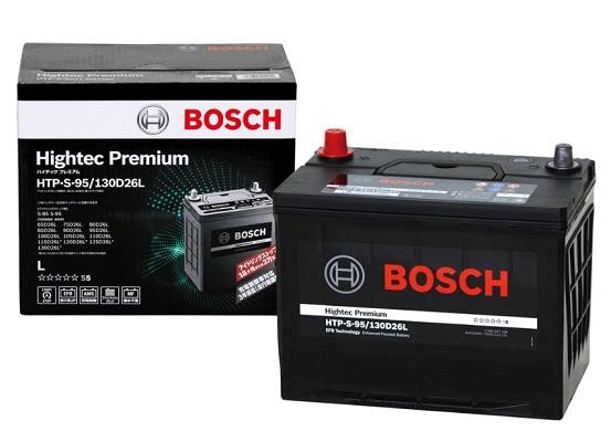 【IS車・充電制御車にも最適】カオス125D26Lを超えた超大容量! HTP-S-95/130D26L BOSCH ボッシュ バッテリー ハイテック プレミアム Hightec Premium