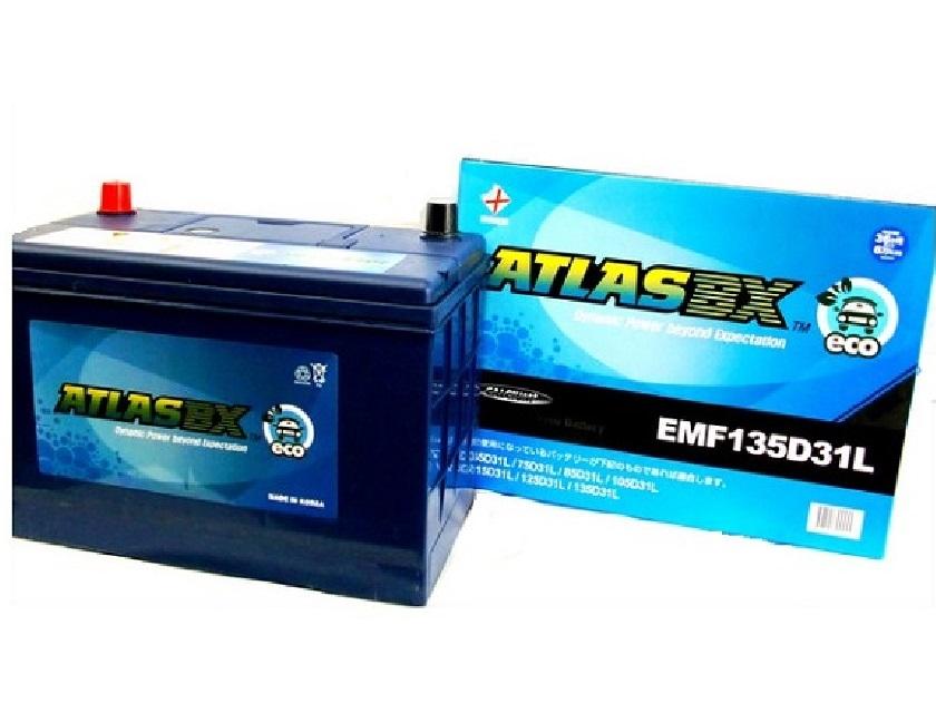 【長期保証】アトラス ATLAS エコ EMF135D31L バッテリー 充電制御車対応 自動車用 ATLAS ECO