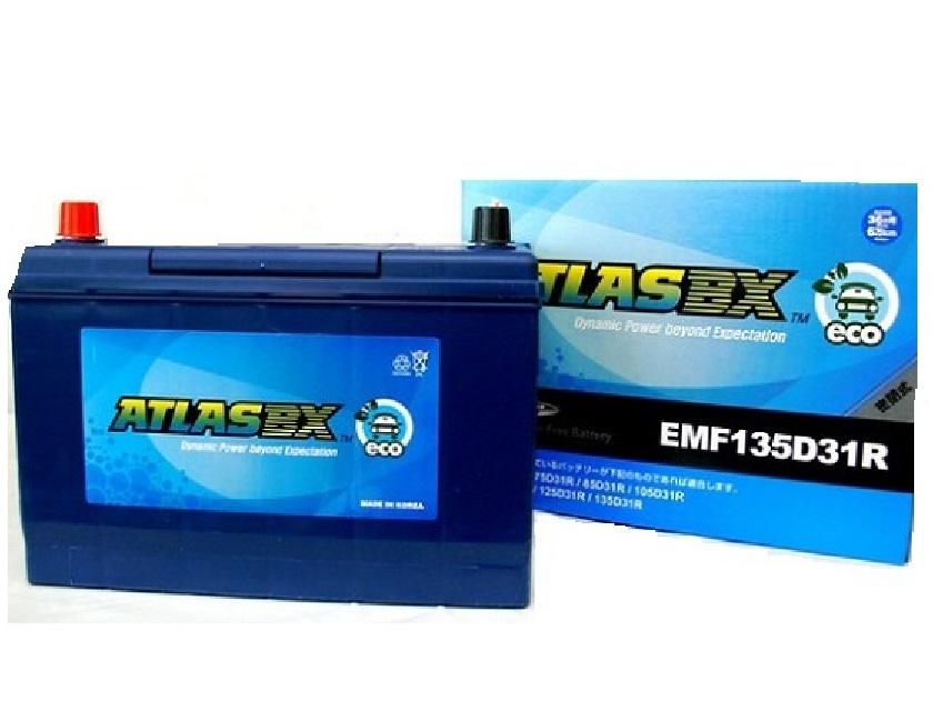 【長期保証】アトラス ATLAS エコ EMF135D31R 充電制御車対応 バッテリー 自動車用 ATLAS ECO トヨタ センチュリー