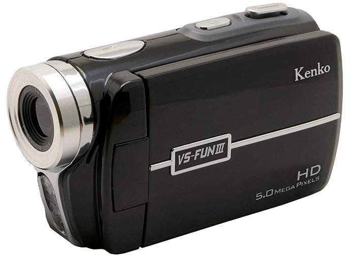 【送料無料】Kenko デジタルビデオカメラ VS-FUN III 1280×720/30fps 3.0インチ液晶