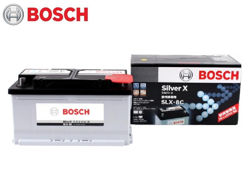 世界最高水準の充電性能でロングライフ 超 注目ブランド ハイパワーバッテリー 安い 激安 プチプラ 高品質 BOSCH SLX8C 欧州車 SLX-8C 自動車バッテリー バッテリー ボッシュ