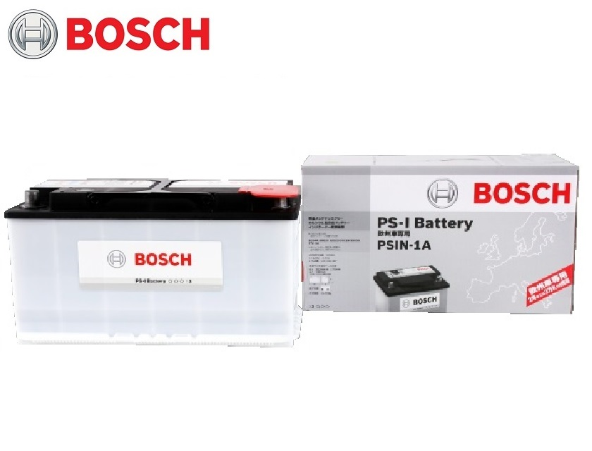 BOSCH ボッシュ バッテリー PSIN-1A 自動車バッテリー