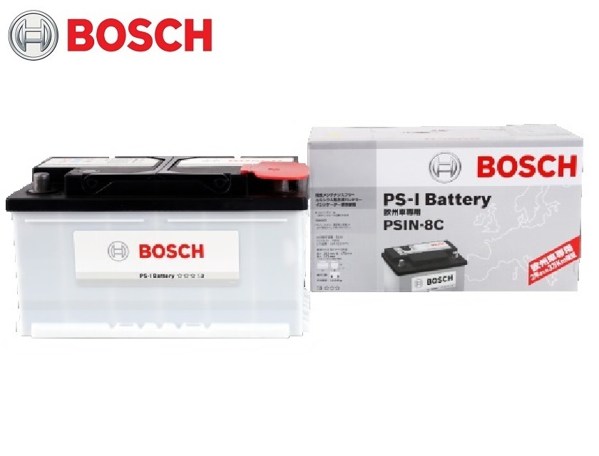 BOSCH ボッシュ バッテリー PSIN-8C 自動車バッテリー