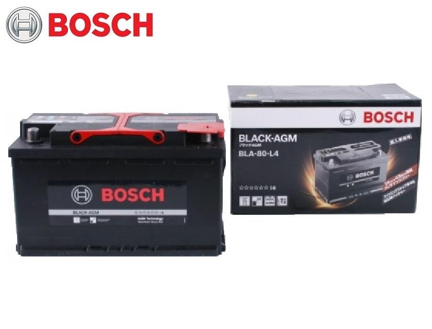 BLA-80-L4 BOSCH ボッシュ バッテリー 新車・メーカー純正搭載品 自動車バッテリー