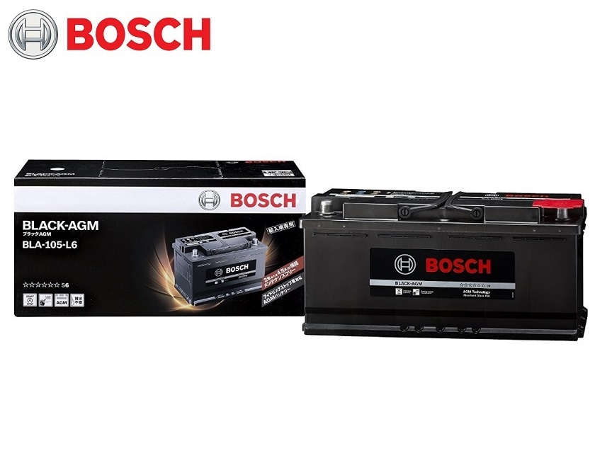 BLA-105-L6 BOSCH ボッシュ バッテリー 自動車バッテリー