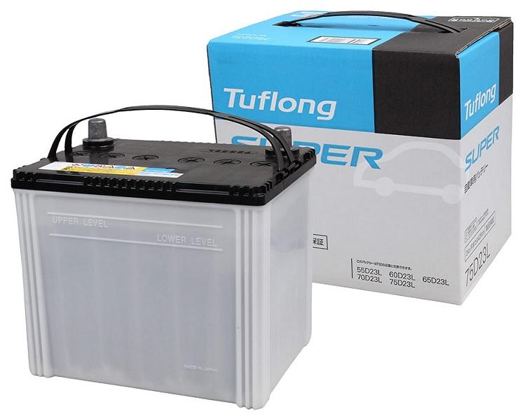 お手頃価格のベーシックモデル 記念日 昭和電工マテリアルズ 定番から日本未入荷 バッテリー JS75D23L Tuflong SUPER 自動車バッテリー