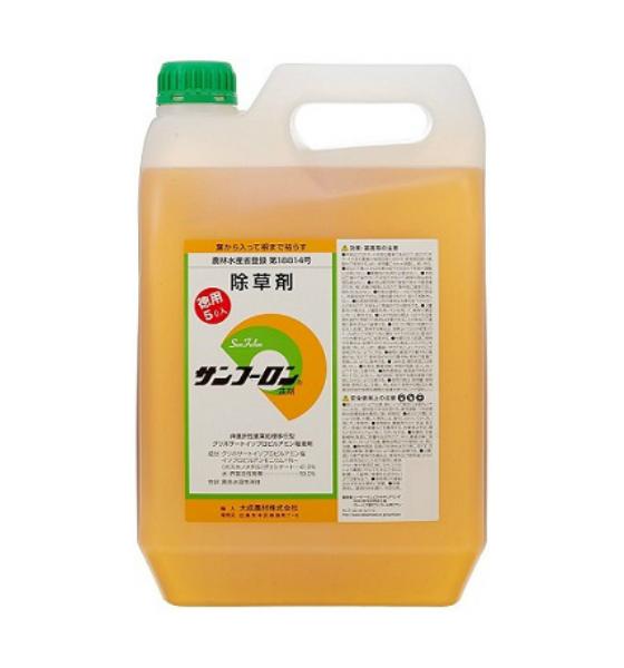 【送料無料】 除草剤 サンフーロン 5L 大成農材 原液タイプ ラウンドアップ同等効果 農林水産省登録
