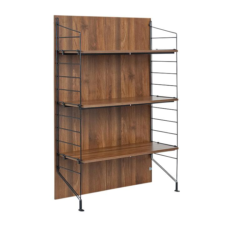 【耐震構造/簡単組立/組み替え可能】ezbo(イジボ) low type rack set[1+5x3] ラック 収納 スチール 木製 おしゃれ シェルフ スリム 収納家具 壁面収納棚 棚 組立ラック 収納ラック 食器棚 キッチン収納