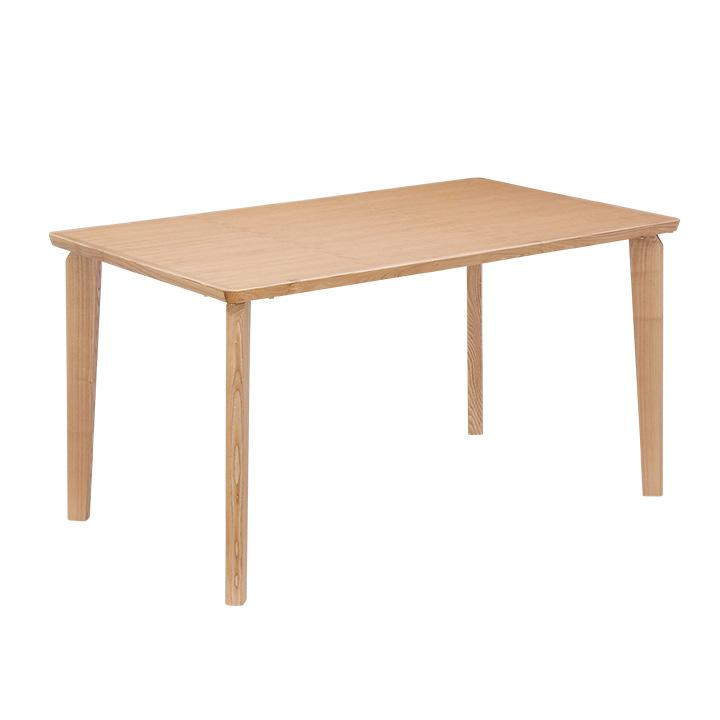 【高級材タモ材使用】ダイニングテーブル 135cm幅 GRACEtable(グレーステーブル) ダイニングテーブル ダイニング 食卓 4人 食卓テーブル table 木製 テーブル 4人用 ナチュラル シンプル 木製 アジャスター付 (大型)