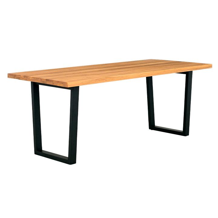 【割引クーポン配布中】【オーク材使用/脚幅調節可能】ダイニングテーブル ARES(アレス) 幅180cm オーク ダイニング テーブル 木製 おしゃれ (大型)