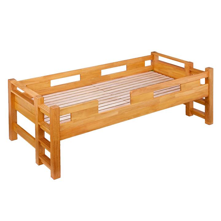 業務用可! G★SOLID シングルベッド 76cm 梯子無 シングルベット 子供用ベッド ベッド 大人用 木製 頑丈 子供部屋 (大型)