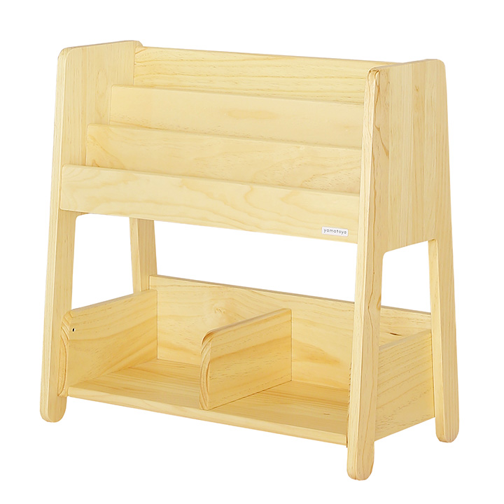 【割引クーポン配布中】木製 ブックラック norsta(ノスタ) 幅70cm ナチュラル (大型)
