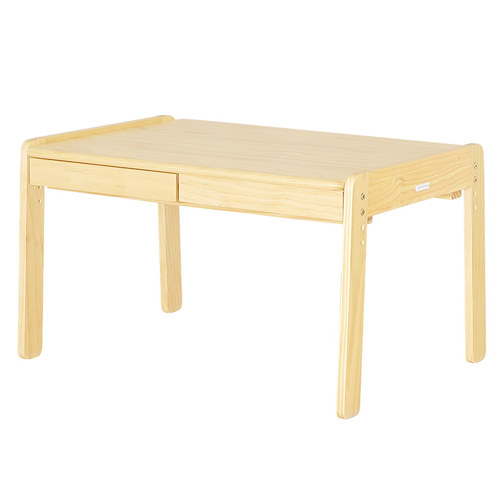 【割引クーポン配布中】3段階昇降可能 子供用机 norsta Large desk(ノスタ ラージデスク) ナチュラル (大型)