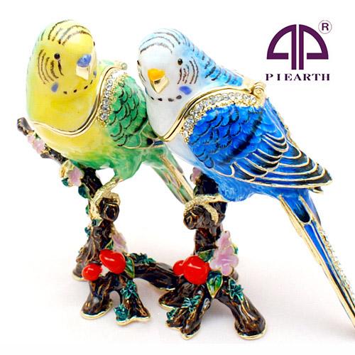 宝石箱 ジュエリーボックス アクセサリーケース 在庫限り 小物入れ 鳥好き必見 インコの宝石箱 丸いつぶらな瞳がとてもかわいい小物入れ 価格 交渉 送料無料 クーポンで半額 インコ 鳥 セキセイインコを飼っている方に大好評 可愛い キッズ 子供 ジュエリー収納 置物 置物としても小物入れとしてもに ピカルス PICALS アクセサリー ギフト