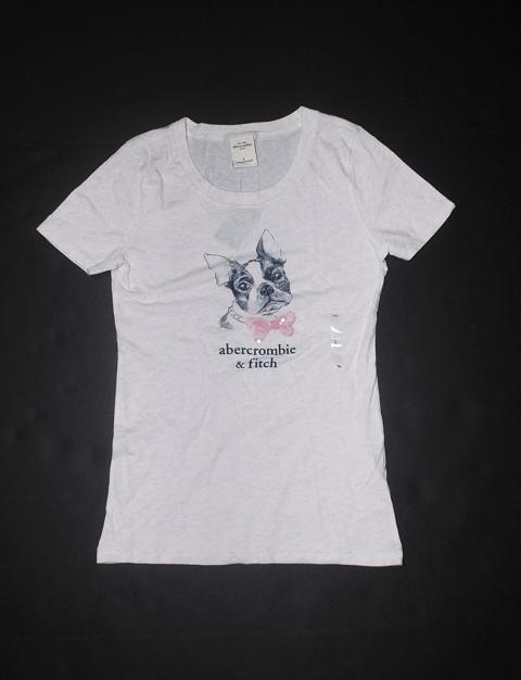 abercrombie アバクロンビーキッズ 本日の目玉 アバクロキッズ SEAL限定商品 ガールズ Lスパンコール付グラフィックTシャツライトヘザーグレーNo.4186
