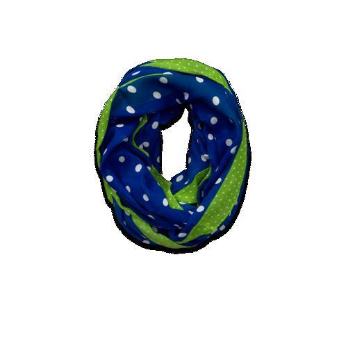 【スグ◎発送】abercrombie(アバクロンビーキッズ/アバクロキッズ)【100%正規品保証★在庫有り・即納可】ガールズサークルスカーフ(スヌード)ブルー&グリーンNo.4514