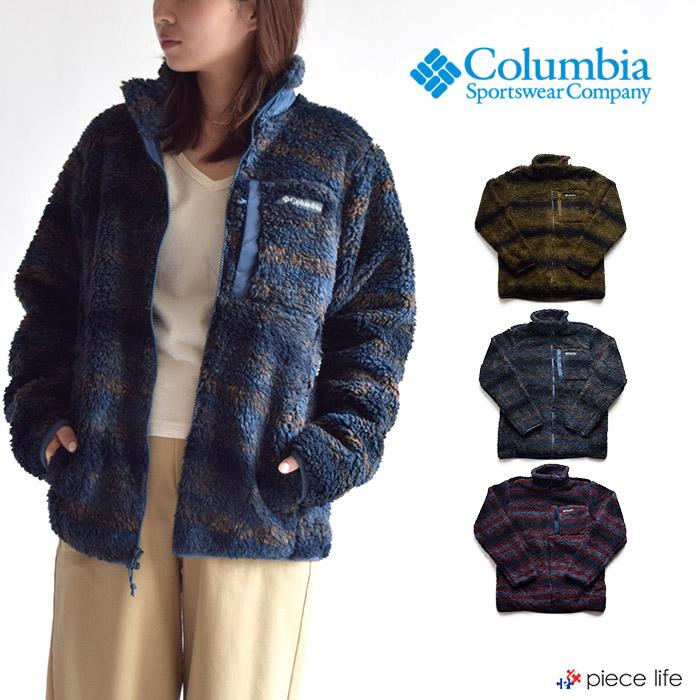 columbia コロンビア ジャケット Columbia ウィンターパスプリントフリースフルジップ/ メンズ 羽織り マウンテンパーカー ライトアウター マンパー 長袖 Winter Pass Print Fullzip AE0259