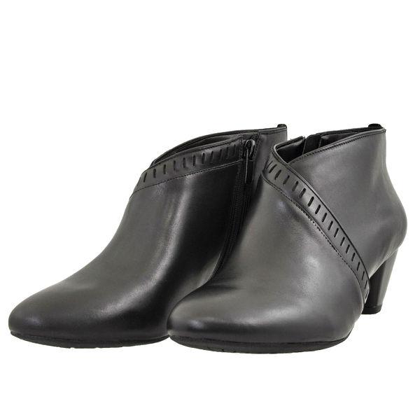 レディース 靴 ブーツ クラークス アンクルブーツ デニーフランセス ブラックレザー Clarks26127976