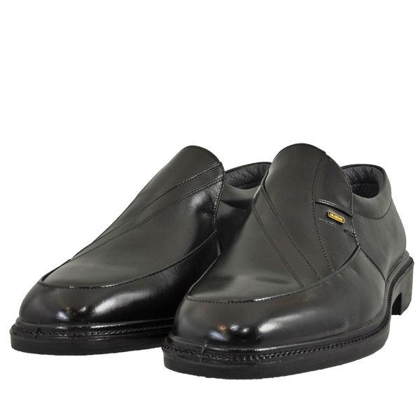 メンズ 靴 ビジネスシューズ ムーンスター ローモカ スリッポン 幅広 4E ブラック MB6021BLK