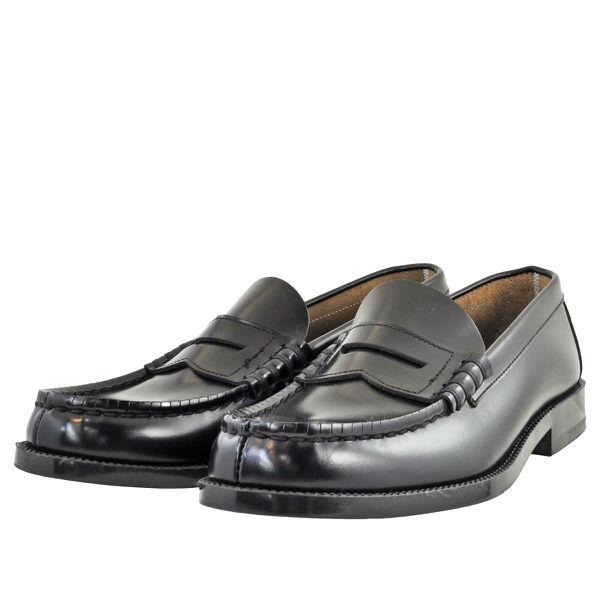 メンズ 靴 ローファー ハルタ 日本製 天然皮革 スリッポン 3E ブラック HARUTA906BLKK