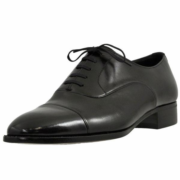 メンズ 靴 ビジネスシューズ マレリ ストレートチップ 革底 内羽根 フォーマルシューズ 3E ブラック marelli75343BLA