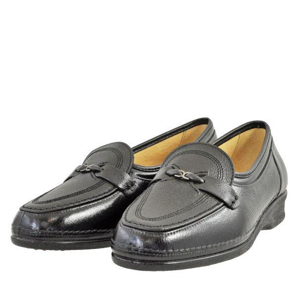 レディース 靴 パンプス ローファー フラットシューズ オタフクスイート 日本製 磁気付 スリッポン 3E ブラック SWEETBLK