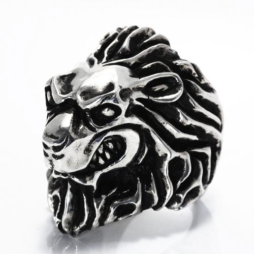リング シルバー925 ライオン獅子のKing Of Leo 送料無料 LEOレオ プレゼント 春夏