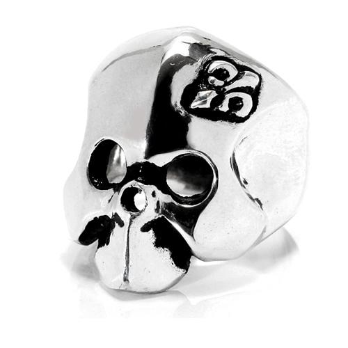 リング メンズ シルバー925 スカルRoyal Mask 送料無料 44ROCK シシロック ユリの紋章 プレゼント 春夏 大人気