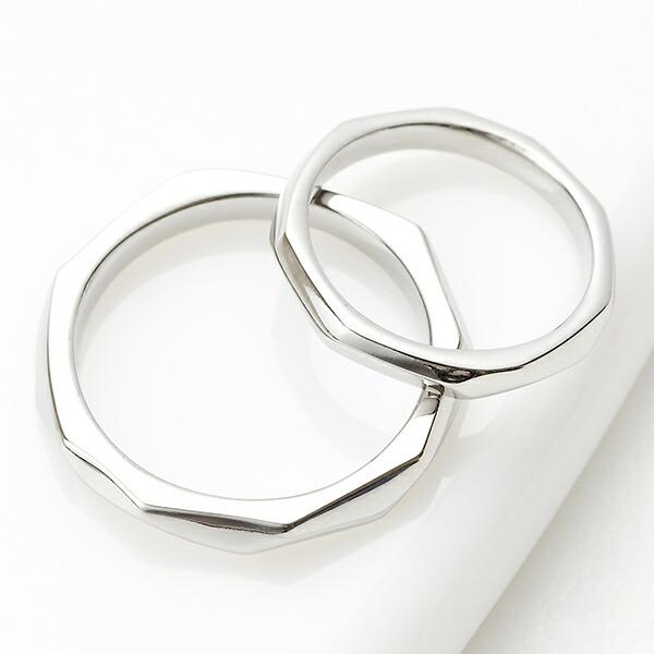 ペアリング レディース メンズ リング 指輪 サージカルステンレス 316L 金属アレルギー対応 シルバー シンプル おそろい 記念日 プレゼント ギフト 送料無料