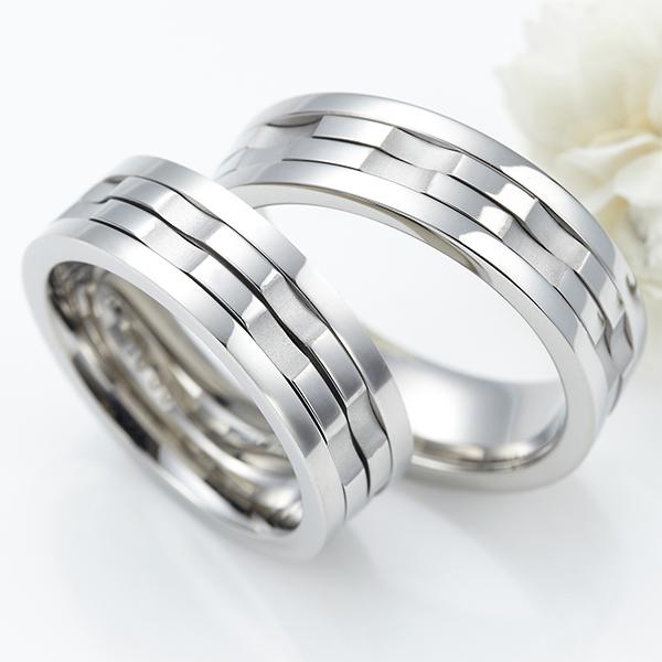 ユニセックスリング 指輪 レディース メンズ サージカルステンレス 2連内リング回転 太め ナット プレゼント 誕生日 オシャレ 傷が付きにくく変色しにくい