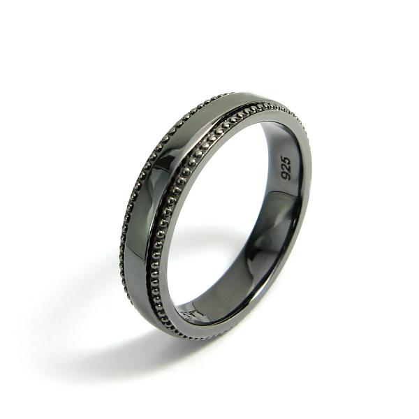 リング メンズ LARA Christie ララ クリスティー ギャラクシー 指輪 ブラックレーベル 男性用 シルバー925製 黒コーティングララクリスティ 送料無料