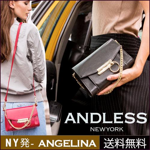 [andless] NY発 アンドレス Angelina チェーンバッグ サイズL