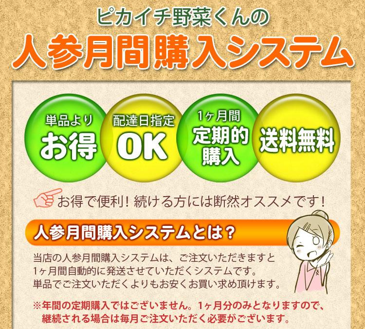 【月間購入】規格外洗い人参3kgを1ヶ月4回合計12kg1ヵ月分(無農薬栽培人参)(にんじん)【常温便】