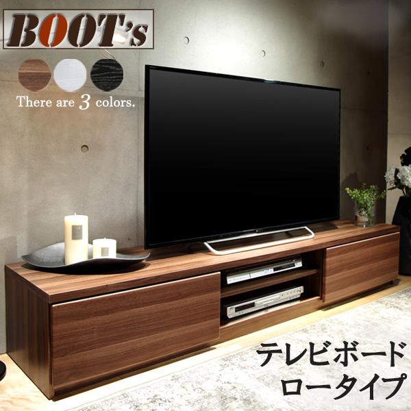 【幅180cm】 テレビボード テレビ台 TV台 ディスプレイラック リビングボード ローボード 新生活