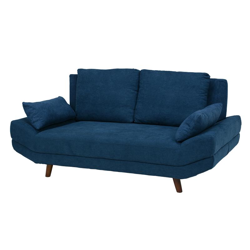 【送料無料】ソファ ブライト2P-NV (約)幅170×奥行96×高さ71/82×座面高31/42cm ■ネイビー | 家具 おしゃれ インテリア 椅子