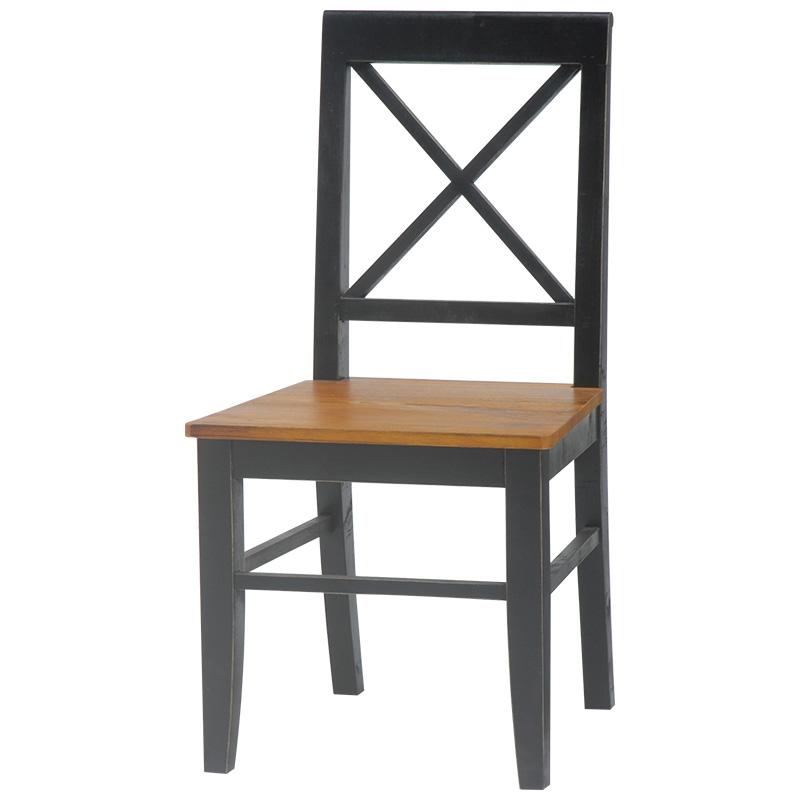 【送料無料】チェア MC-5326BK (約)幅45.5×奥行49×高さ90×座面高43cm ■ブラック   家具 おしゃれ インテリア 椅子